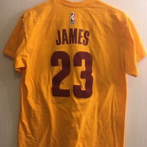 Adidas Cleveland Cavs Lebron James #23 jersey T
